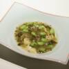 メゾン・ド・ユーロン - 料理写真:生湯葉と中国高菜の煮込み