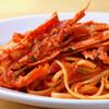 ケ  ヴォーリア! - 料理写真:パスタ・手長海老のトマト煮 自家製リングイネ