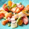 たんとたんと - 料理写真:本日のカルパッチョ 580円~  市場より仕入れた新鮮なお魚をご用意しております オリジナルのドレッシングが人気です