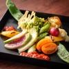 たんとたんと - 料理写真:こだわり野菜のバーニャカウダー 900円 旬の色々なお野菜を市場より仕入れております