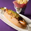 Serendipity 3 - 料理写真:長さ約30cmほどのTexas Style Chili Dog(テキサススタイル チリドッグ)
