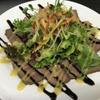 月と兎 - 料理写真:ローストビーフのサラダ仕立て
