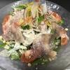 月と兎 - 料理写真:生ハムのシーザーサラダ