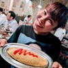 よし富 - 料理写真:チキンラーメンのオムソバです
