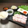 焼肉三松 - 料理写真:サムギョプサル定食1380円