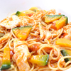 ランチ&バー 花菜 - 料理写真:カボチャと蒸し鳥のトマトソース