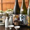 盃屋かづち - ドリンク写真:純米酒、約50種取りそろえ