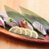 ときすし - 料理写真:ヒカリ三昧 鯖 いわし アジ こはだ 秋刀魚