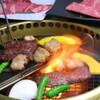 ほんまもん - 料理写真:ほんまもん自慢の『溶岩挟み焼き』を是非★焼けるスピードとお肉の旨さにビックリするはず♪