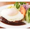 八千代味清 - 料理写真:ジューシーなハンバーグは年代を問わず人気が高い!!