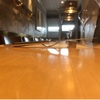 Y'S - 内観写真:檜のカウンター