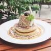ウイラニ - 料理写真:くるみとほうじ茶アイスのモンブランパンケーキ