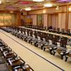 人丸花壇 - 内観写真:最大180名まで収容可能の宴会場
