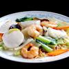 中国料理 慶福楼 - 料理写真:帆立、海老、イカ入り焼きそば