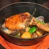俺のフレンチ TOKYO - 料理写真:鴨もも肉のココット