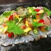 俺のフレンチ TOKYO - 料理写真:真鯛のカルパッチョ