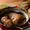 CarneSio east - メイン写真:富士鶏焦がしバター焼き博多フランスパン2