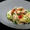 キタバル - 料理写真:【10月のSPECIAL MENU】 道内各地より 秋鮭といくらのクリームパスタ 1,080円