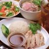 にんにくやマナオ - 料理写真:ランチの大人気ハーフ&ハーフランチ1080円(税込)