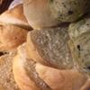 サカナバル - 料理写真:自家製パン3種