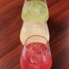 旨い肴と牛タンしゃぶしゃぶ お椀 - ドリンク写真:プレミアム果実酒