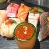 RAKUSUI - 料理写真:お寿司のようなお刺身サラダ