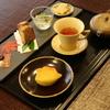 茶三楽 - 料理写真:日本茶と和菓子のセット