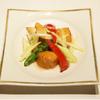 メゾン・ド・ユーロン - 料理写真:帆立貝と季節野菜の岩塩炒め