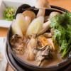 蕎麦・天ぷら 権八 - 料理写真:冬限定!!牡蠣鍋
