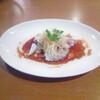 星期菜 - 料理写真:【 イカの湯引き・香港風 】クセになるコリコリの食感、柔らかなコクと風味。