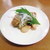 星期菜 - 料理写真:【 カキのピリ辛炒め 】歯ごたえあるカキのプリプリの食感、ほどよい甘辛さ。