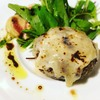 馬肉グリル&ワイン ゆう馬 - 料理写真:馬肉100%ハンバーグ チーズのせ