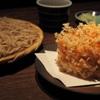 紗羅餐 - 料理写真:桜海老のかき揚げと二八蕎麦