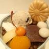 菊丸 - 料理写真:丹波黒豆あんみつ  ¥820
