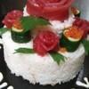 居酒屋 泉屋 - 料理写真:お祝いにケーキ風ちらし寿司