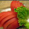 鳥伊勢 - 料理写真:冷やしトマト