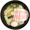 塩SOBA クワトロ・バリエ - 料理写真:特製は味玉+チャーシュー2枚増し