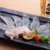 ときすし - 料理写真:カワハギ薄造り780円