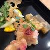自然食バイキング はーべすと - 料理写真:五郎島金時とクランベリーのレモン煮(金団仕立)、白菜と春菊と加賀蓮根の冬サラダ、べろべろ