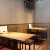 彩波 - メイン写真:内観カウンター席・テーブル席