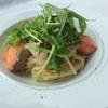 フレンチレストラン Nature - 料理写真: サーモンと水菜のクリームソース(生パスタ)