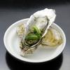キタバル - 料理写真:【2月の殻付きがき100円フェア】かきの白ワイン蒸し バジルソース 一個100円