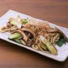 ひもの野郎 - 料理写真:灰干しイカの焼うどん690円
