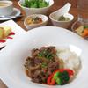 cafe&BistroKitchen Belle anse - 料理写真:プレミアムランチはデザートも付いて1200円!