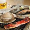 北海番屋 - 料理写真:海鮮網焼き お好みの食材をテ-ブルで焼きながらお召し上がり下さい。