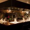 ジャッジョーロ銀座 - 内観写真:オープンキッチンのカウンター席も人気です