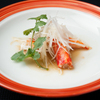 メゾン・ド・ユーロン - 料理写真:タラバ蟹の蒸し物