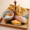 そば会席 立会川 吉田家 - 料理写真:弥生の前菜【そば会席】