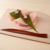 そば会席 立会川 吉田家 - 料理写真:桜あん入り桜餅