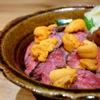 いいと - 料理写真:和牛炙りの生雲丹のせちらし
